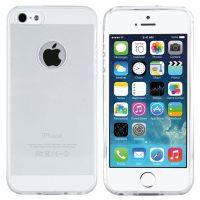 iPhone 5S Hülle in Transparent (mit Logo Ausschnitt)