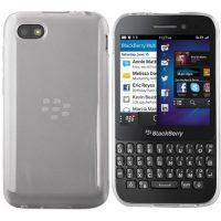 Blackberry Q5 Hülle in Transparent - Silikonhülle Case Schutzhülle Cover für Blackberry Q5