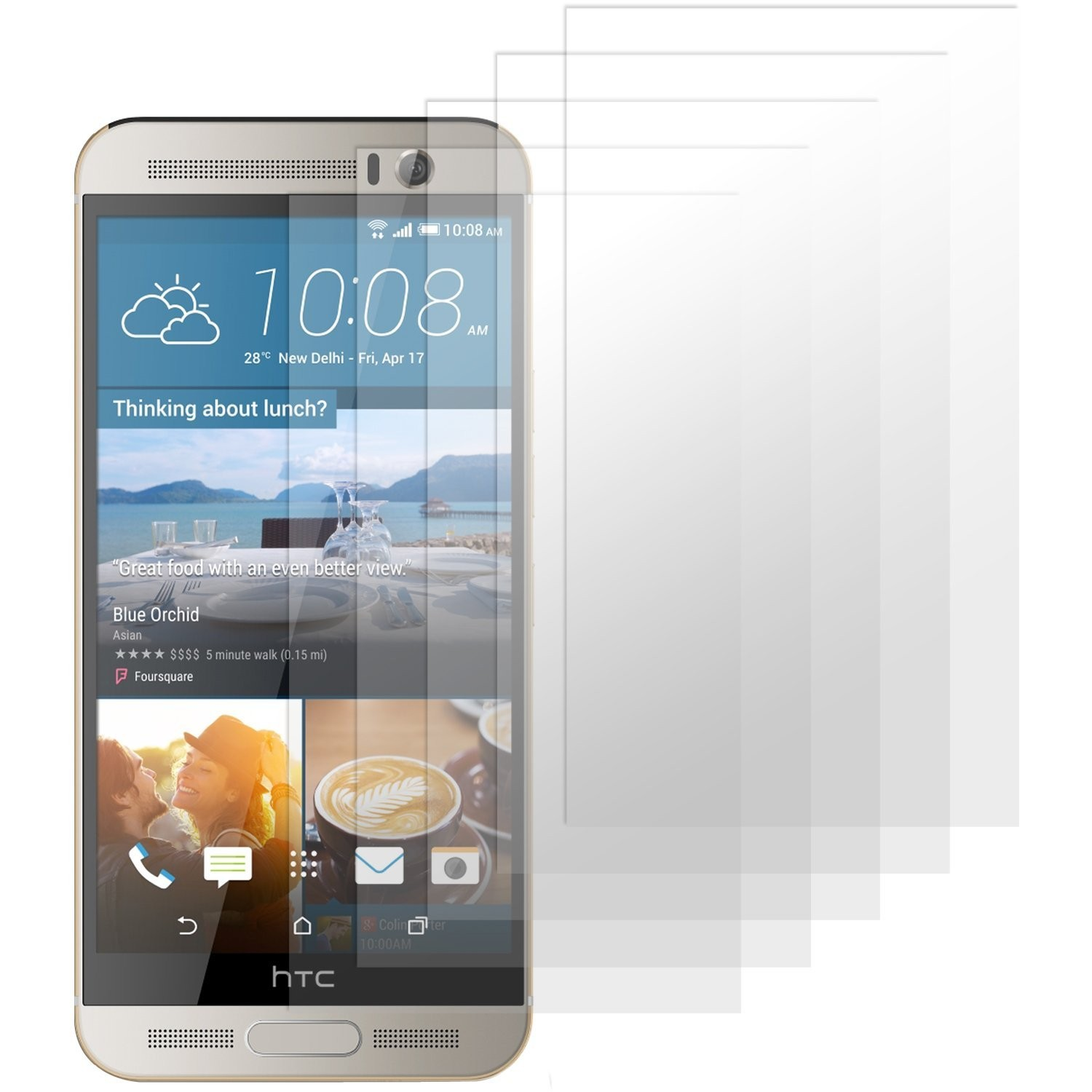 HTC One M9+ Displayschutzfolie