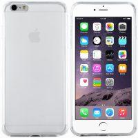 iPhone 6s Plus Hülle (matte Rückseite) in Transparent