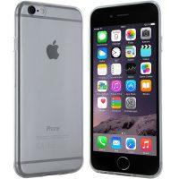iPhone 6 Plus Hülle in Transparent - Silikonhülle Case Schutzhülle Tasche für Apple iPhone 6 Plus