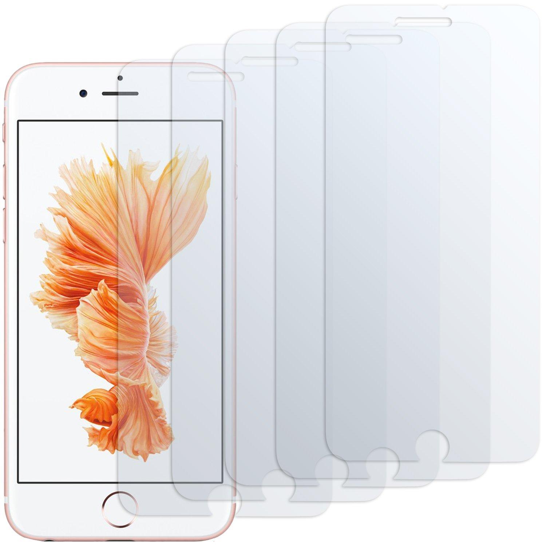 iPhone 6s Displayschutzfolie - 5 Stück - moodie Premium Folien Kristallklar für Apple iPhone 6s