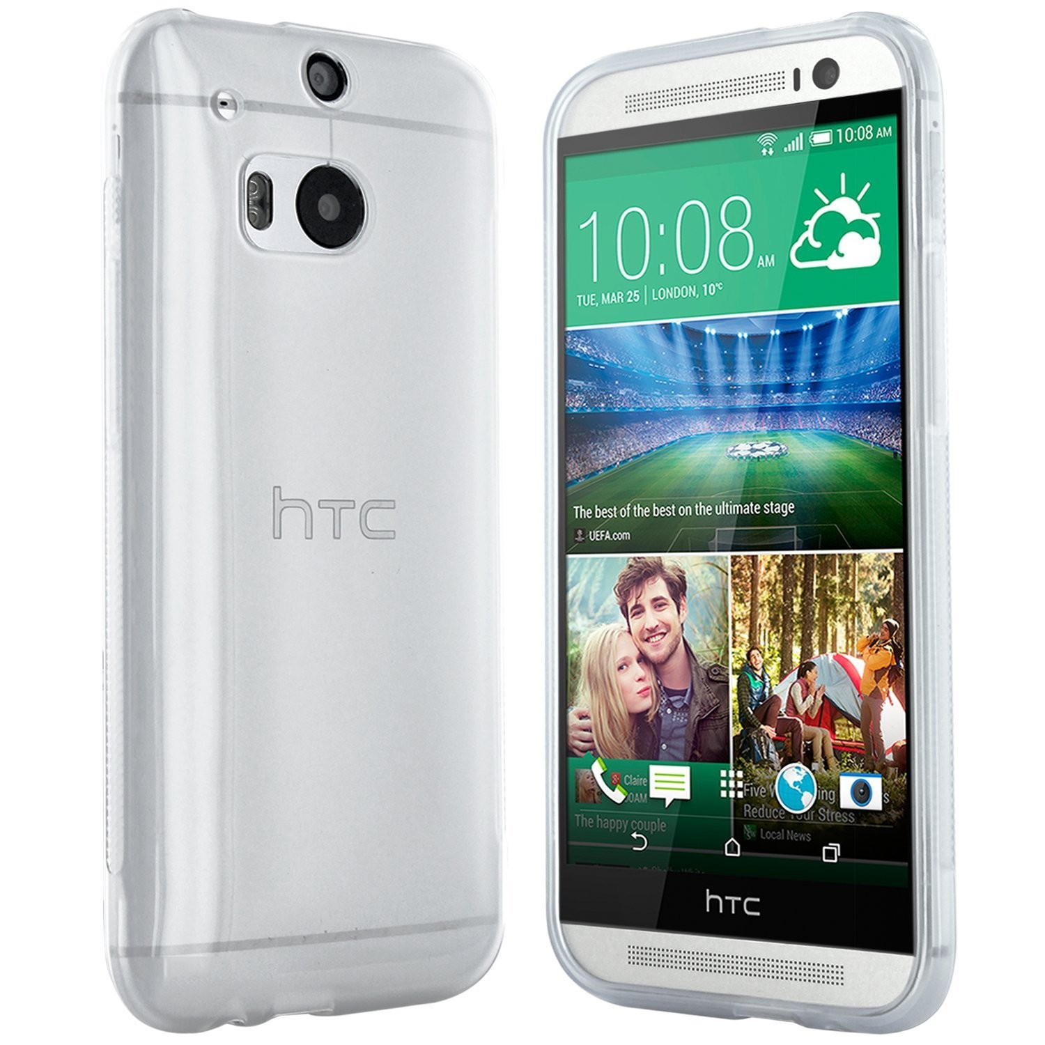 HTC One M8 Hülle in Transpa