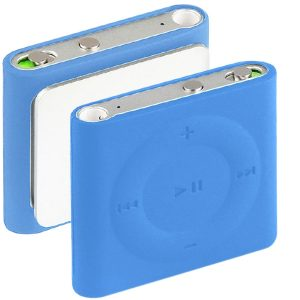 iPod shuffle Huelle in blau