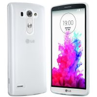 LG G3 S Huelle in transparent weiß