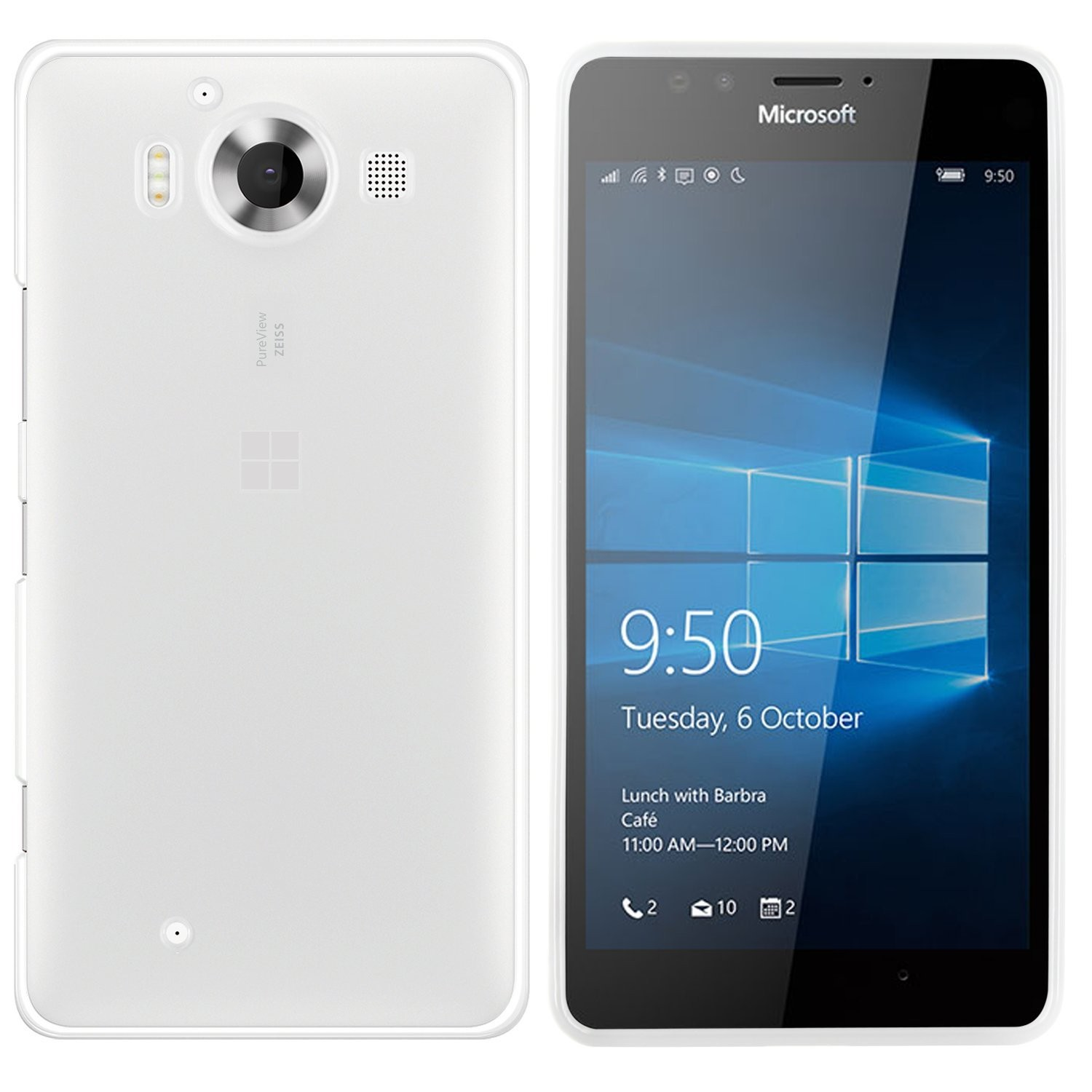 Microsoft Lumia 950 Hülle in Transparent ultra dünn