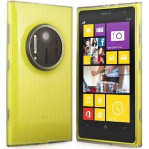 Nokia lumia 1020 Hülle in weiß-transparent