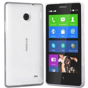 Nokia X Huelle in transparent
