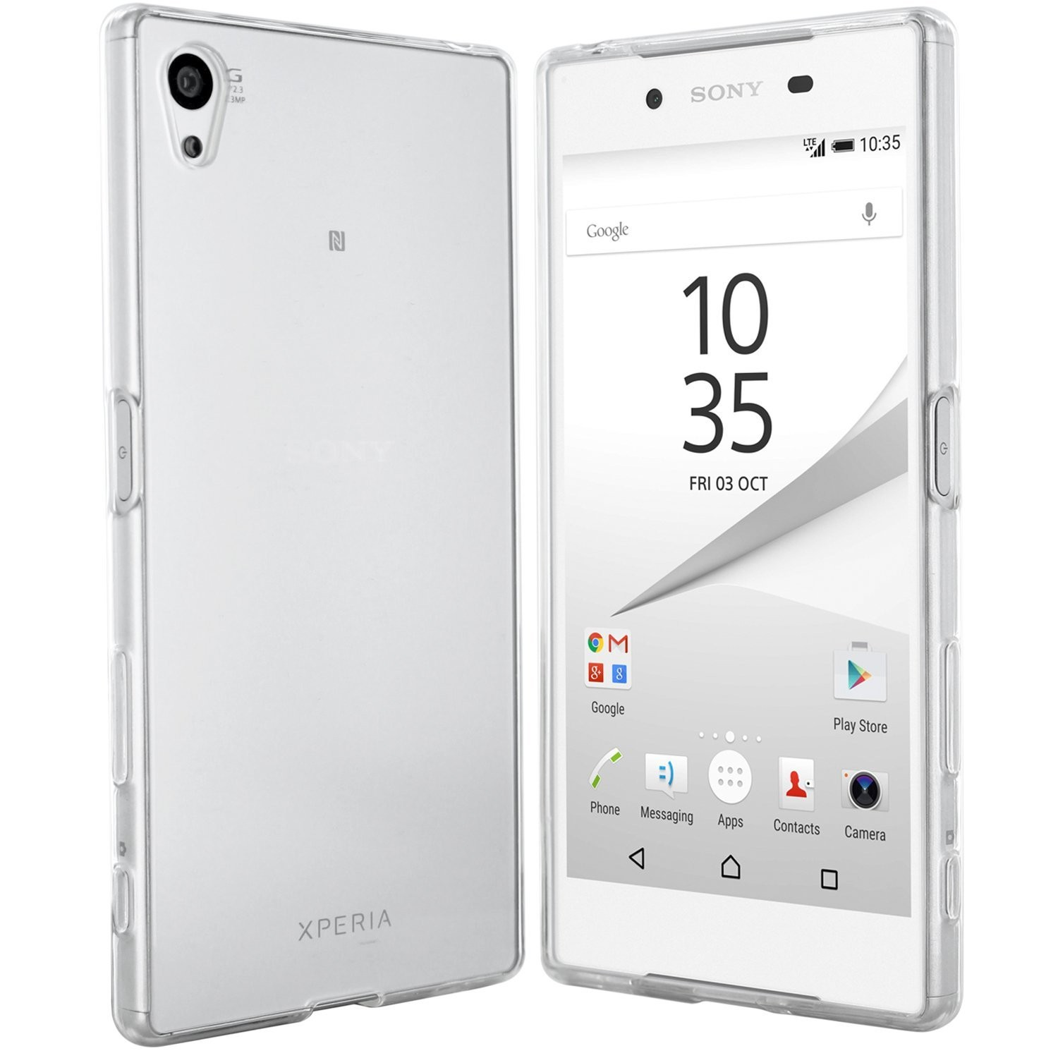 Sony Xperia Z5 Hülle in Transparent