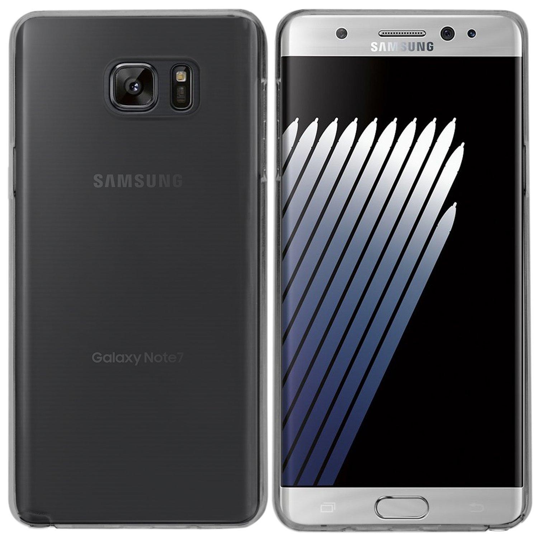 Samsung Galaxy Note 7 Hülle in Schwarz_1500_ Case Cover Schutzhülle Silikonhülle