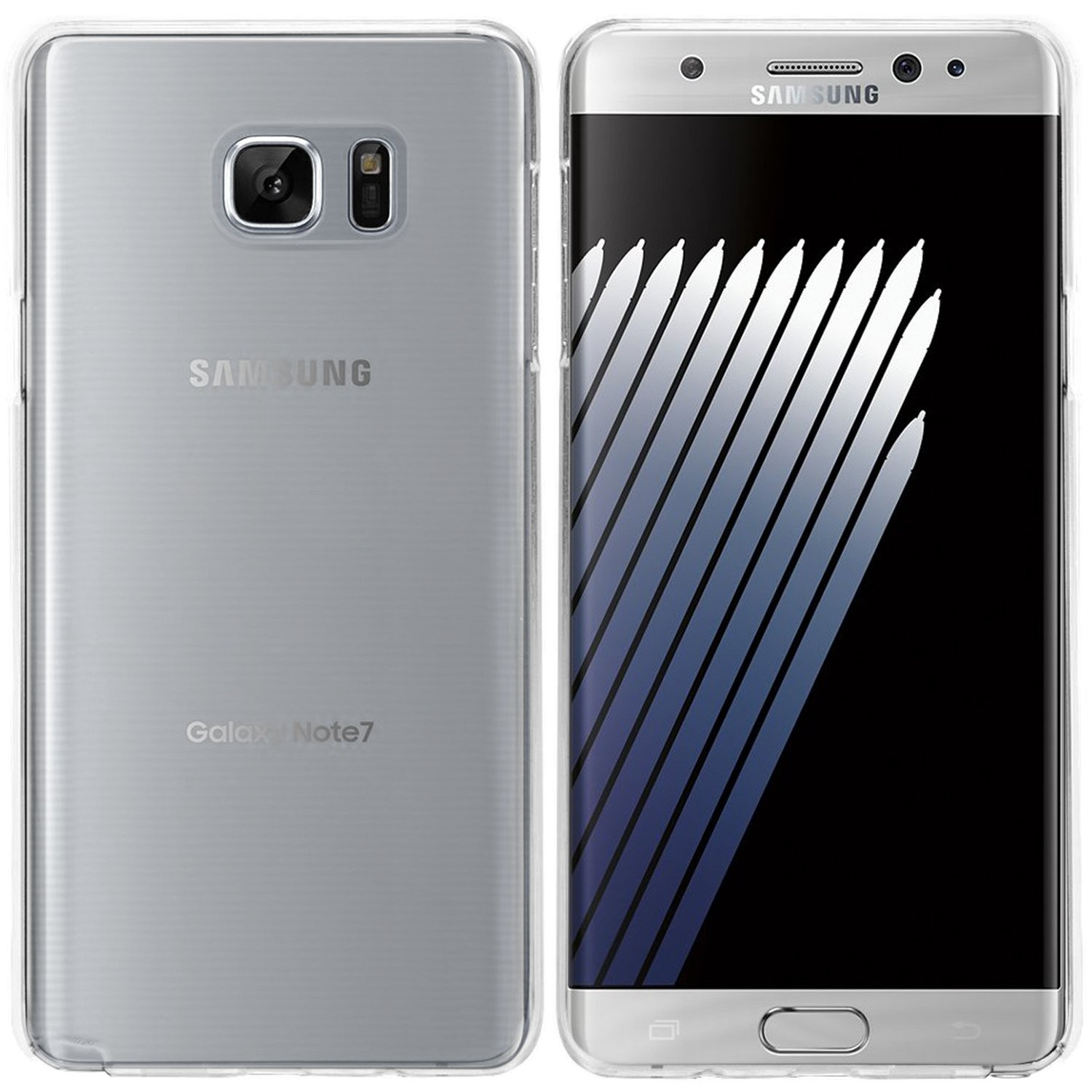Samsung Galaxy Note 7 Hülle in Transparent