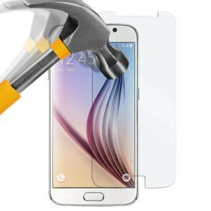 Samsung Galaxy S6 Panzerglas Folie - Premium Glasfolie 9H