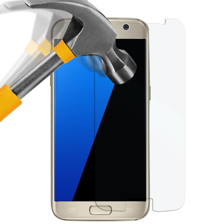 Samsung Galaxy S7 Panzerglas Folie - Premium Glasfolie 9H