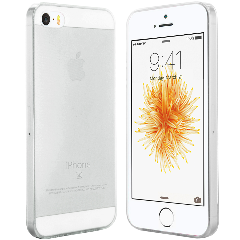 iPhone SE Hülle Ultra Slim in Transparent