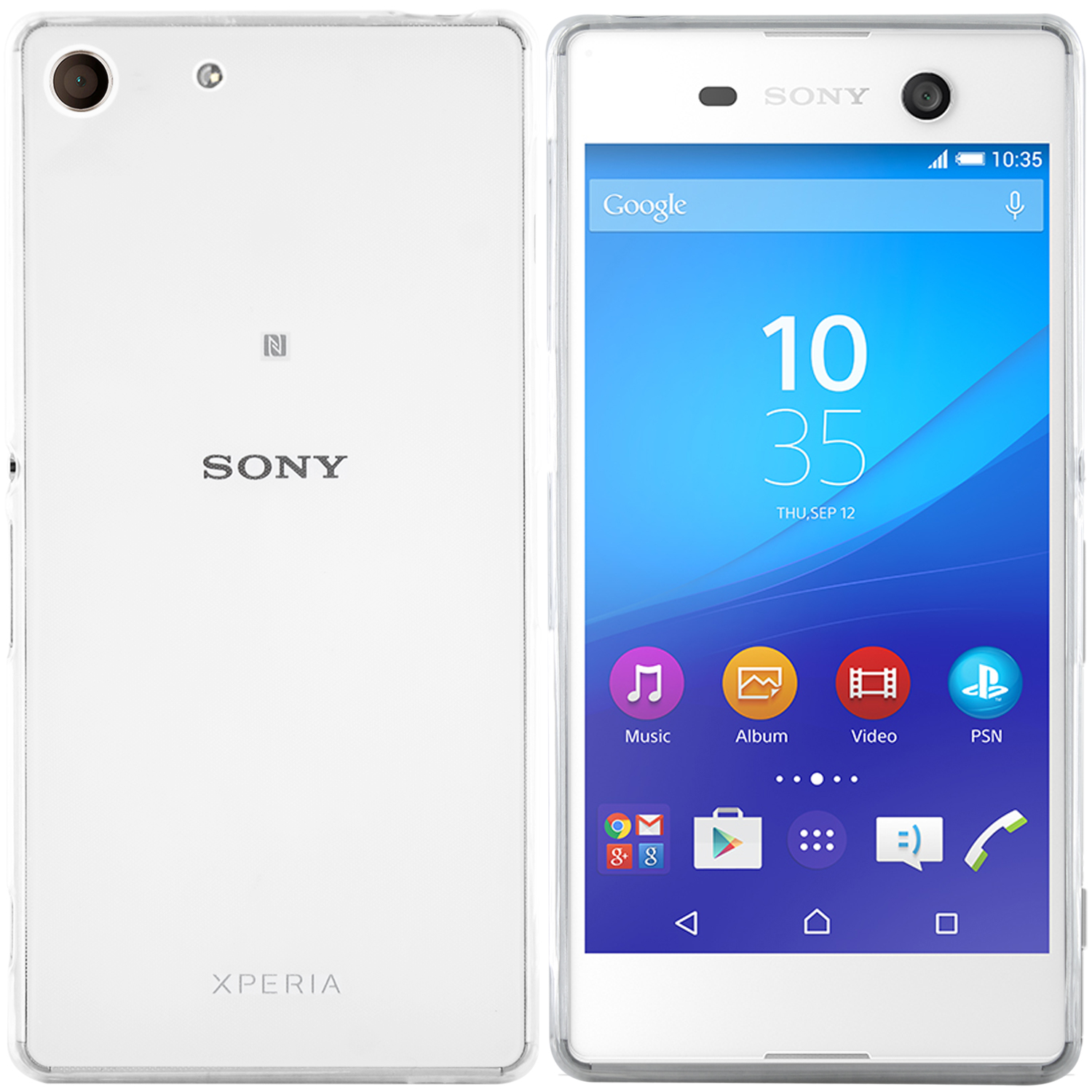 Sony Xperia M5 Hülle in Transparent