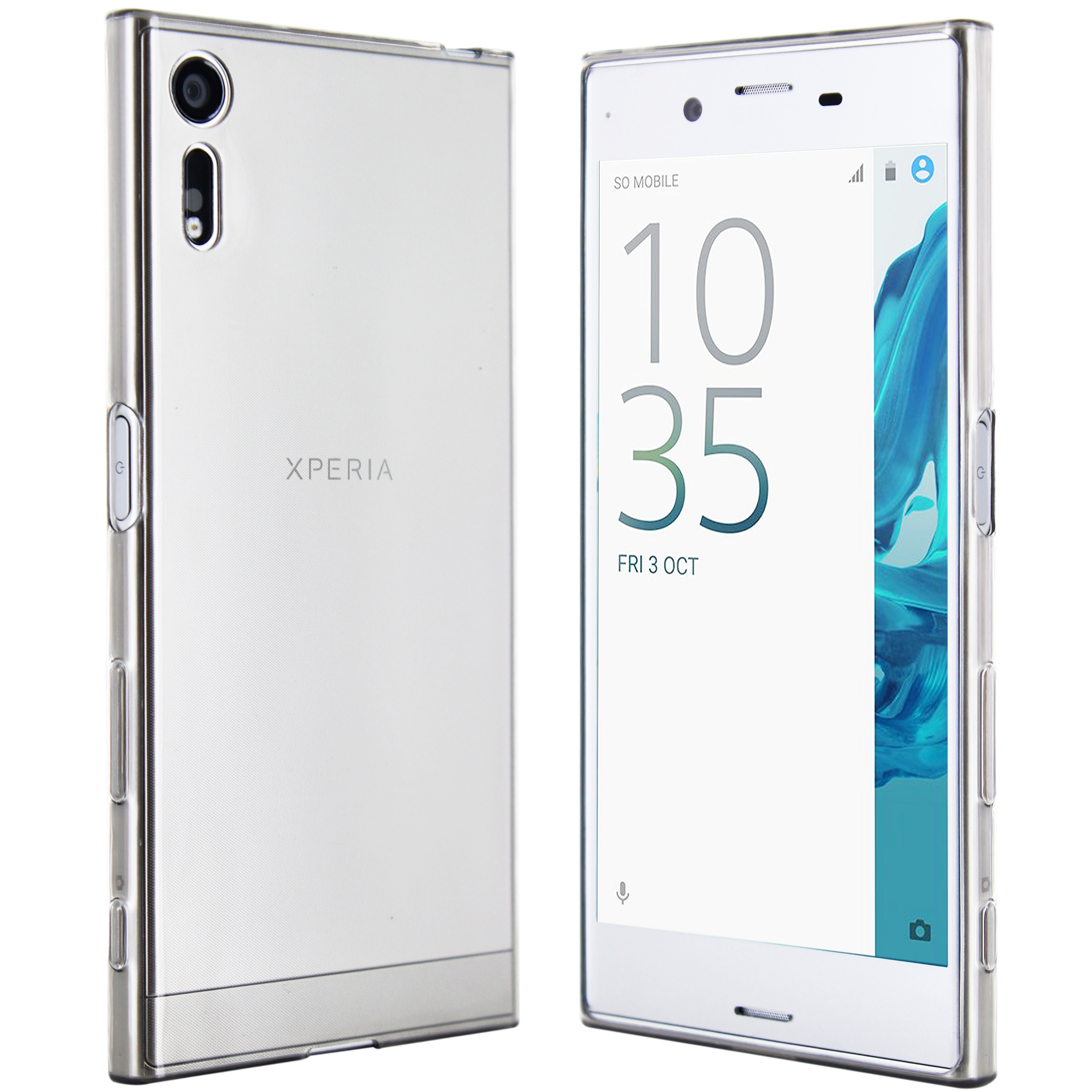 Sony Xperia XZ Hülle in Transparent
