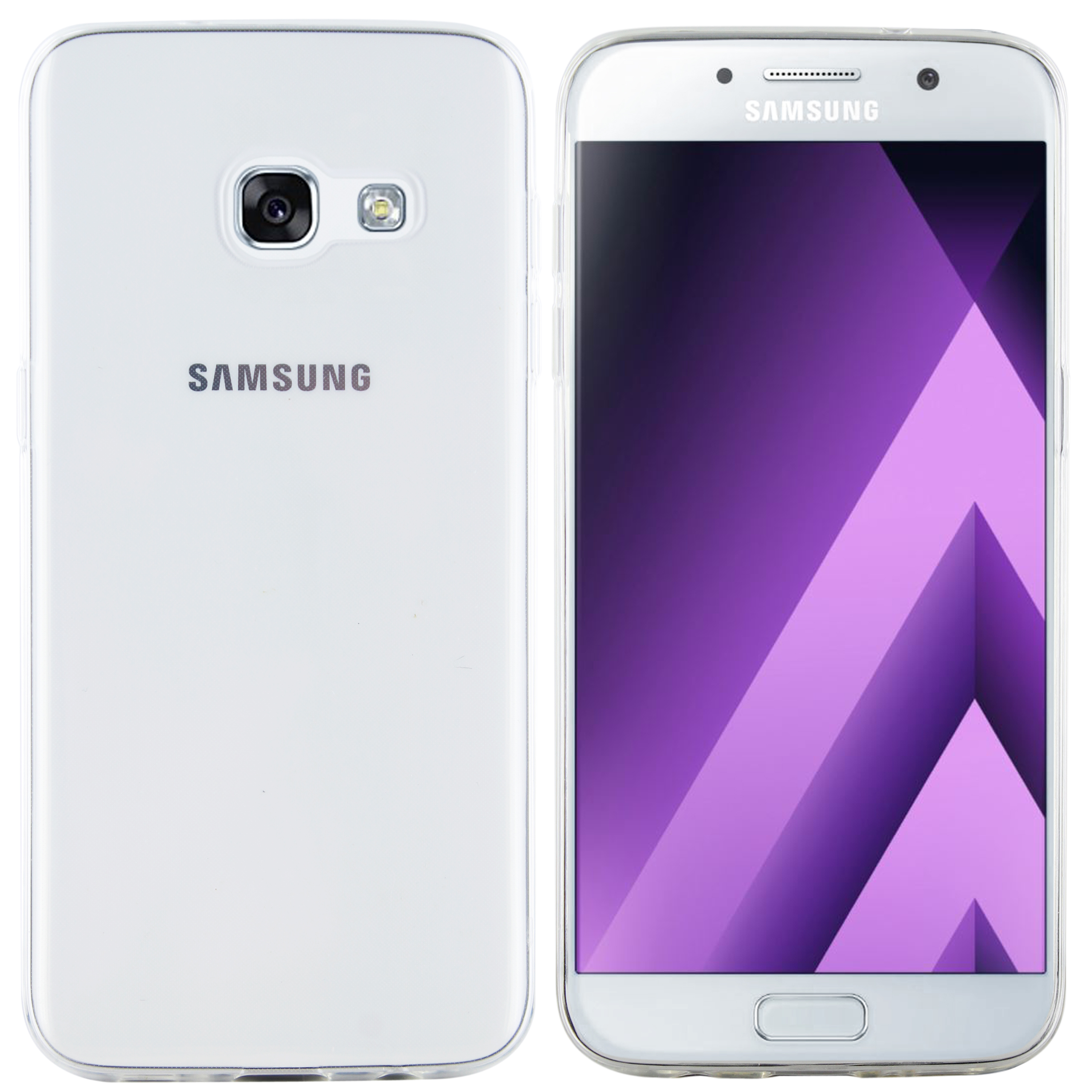 Samsung Galaxy A3 2017 Hülle Transparent