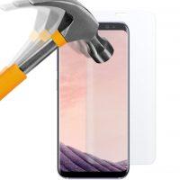 Samsung Galaxy S8 Panzerglas Folie - moodie Premium Full Screen Glasfolie speziell für gewölbte Displays vollständige Abdeckung Full Cover Panzerglasfolie für Samsung Galaxy S8