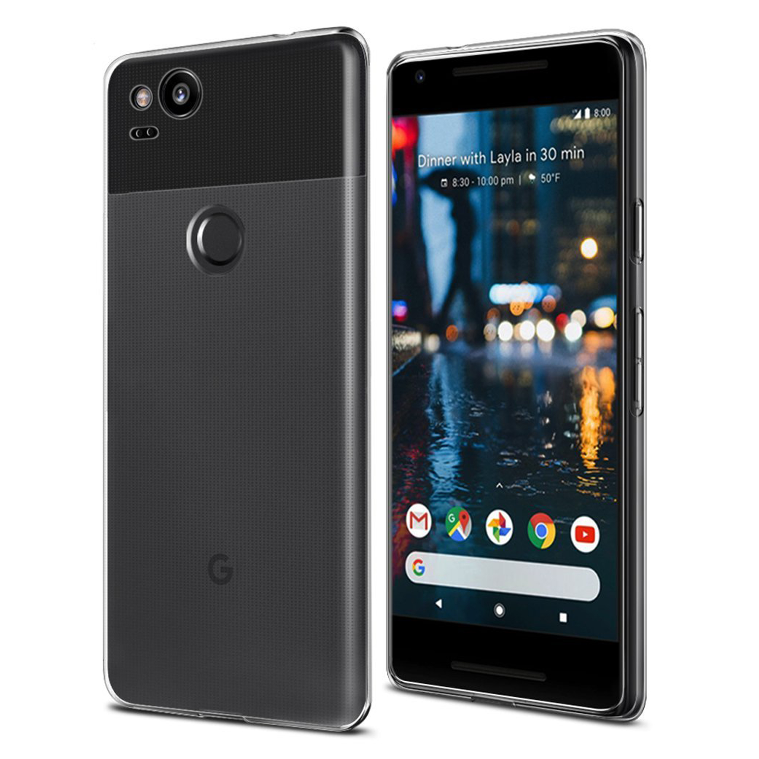 Google Pixel 2 Hülle in transparent
