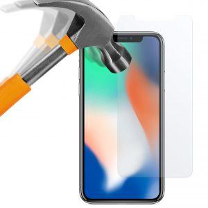 iPhone X Panzerglas Folie