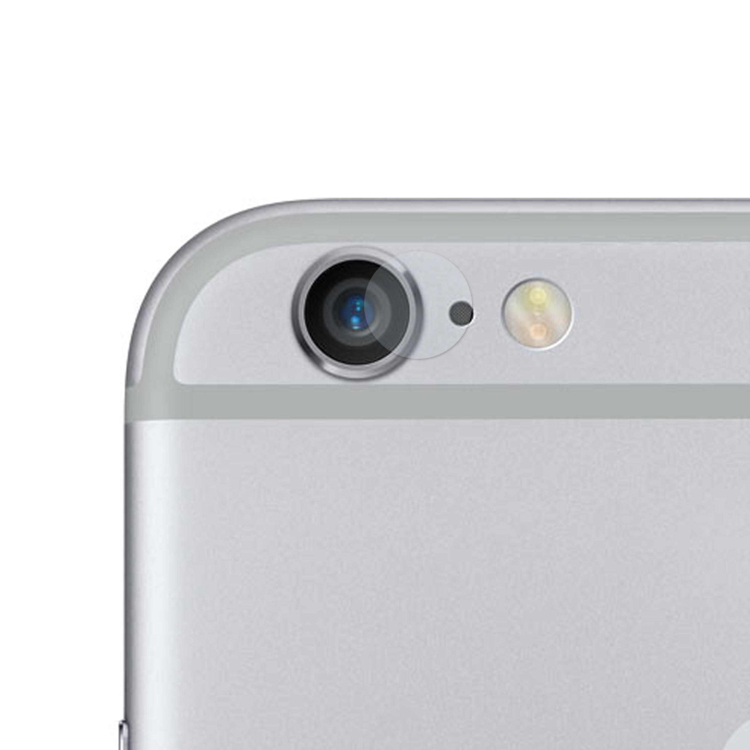 iPhone 6 6S Kameraschutz Panzerglas Folie
