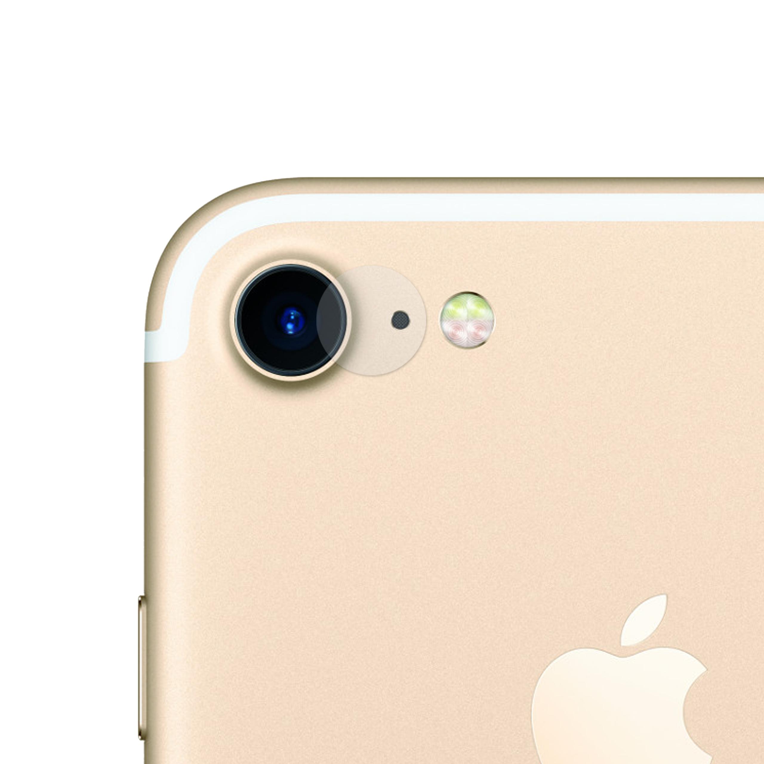 iPhone 7 Kameraschutz Panzerglas Folie
