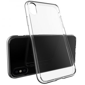 iPhone X Hülle in transparent
