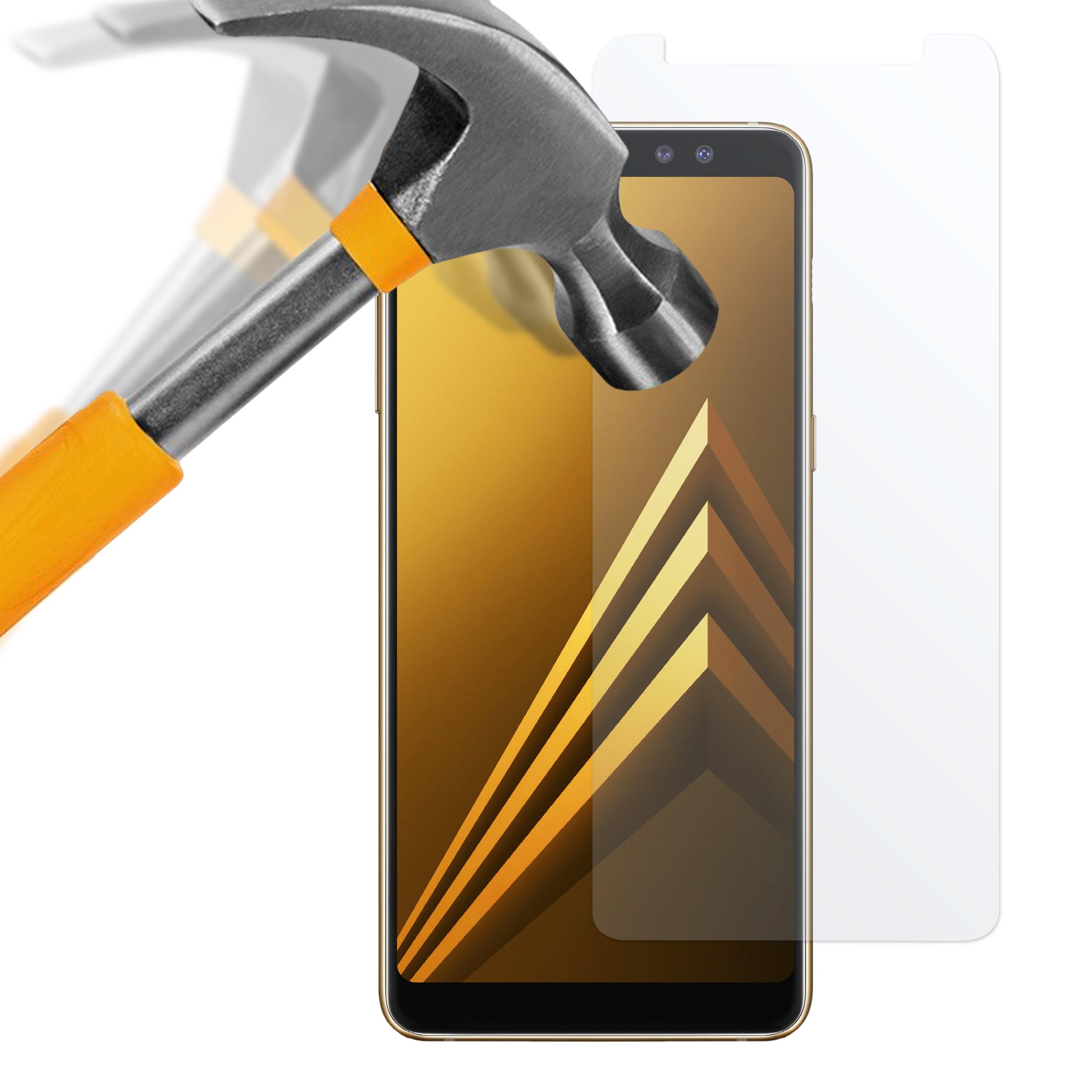 Samsung Galaxy A8 2018 Panzerglas Folie