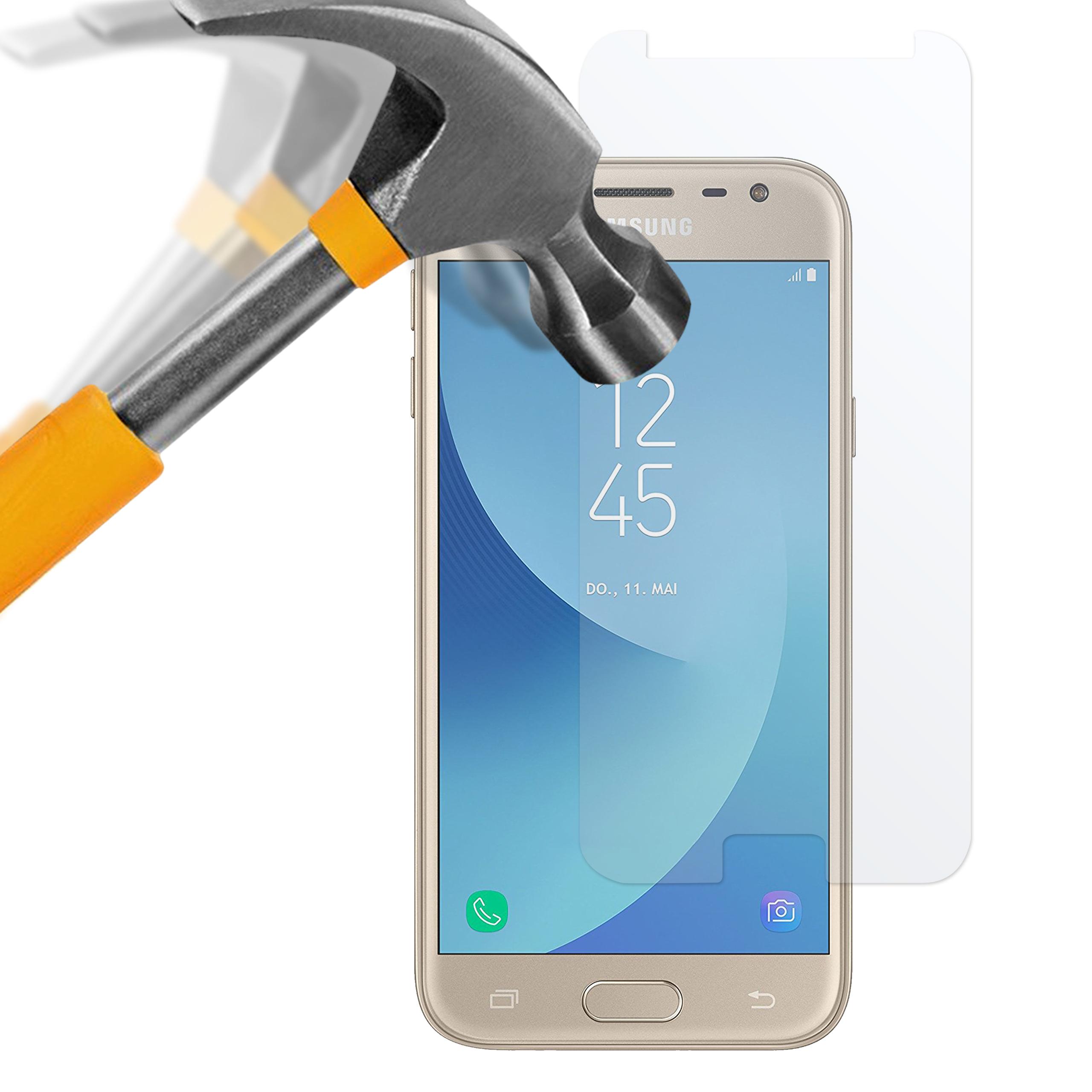 Samsung Galaxy J3 2017 Panzerglas Folie
