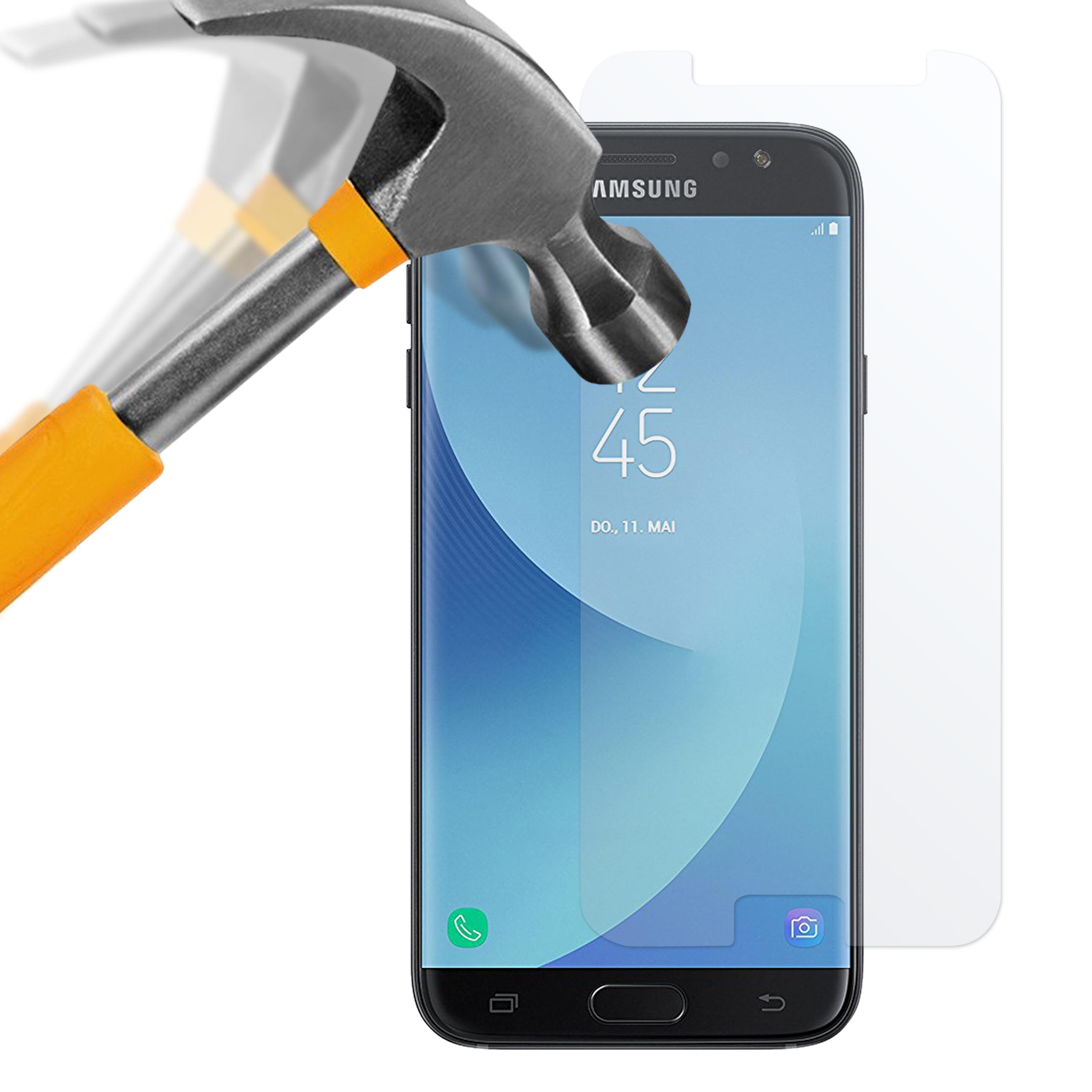 Samsung Galaxy J7 2017 Panzerglas Folie
