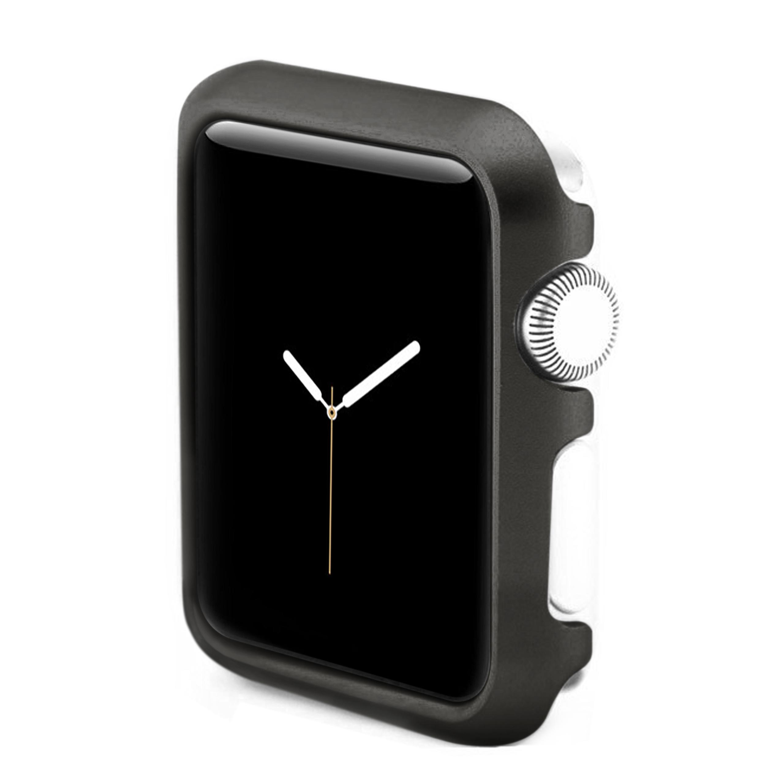 Apple Watch 4 - 44mm Hülle in Schwarz aus Aluminium von moodie