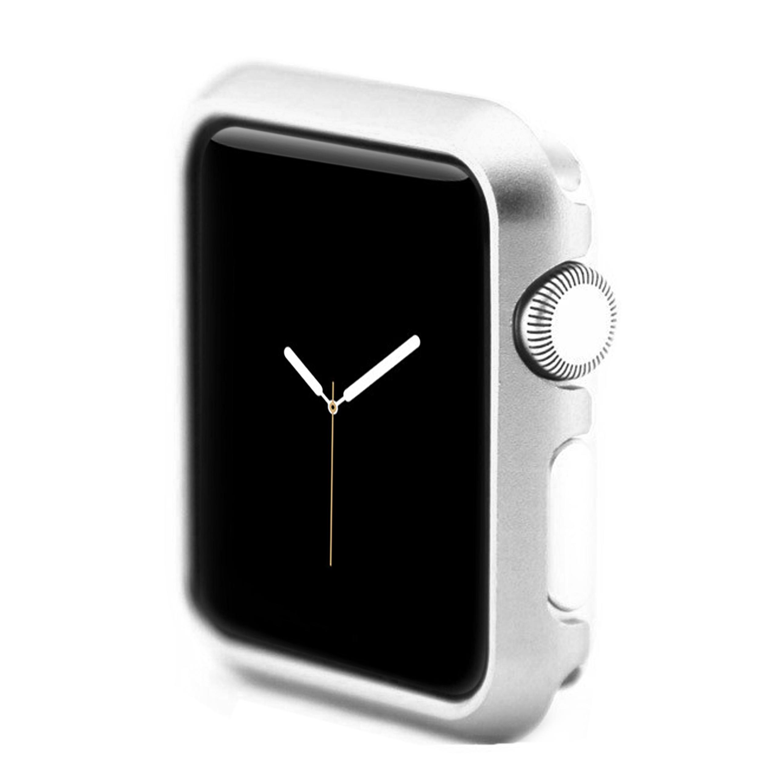 Apple Watch 4 - 40mm Hülle Silber aus Aluminium