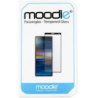 Sony Xperia 10 Panzerglas 3D Folie - moodie Premium Full Screen Glasfolie