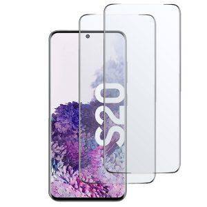 Samsung Galaxy S20 Plus Panzerglas, Panzerglasfolie, Schutzglas, Schutzfolie, vollflächige Displayhaftung