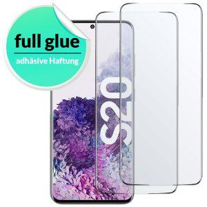 Samsung Galaxy S20 Panzerglas Schutzglas Schutzfolie