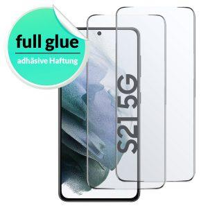 Samsung Galaxy S21 panzerglas Full Glue