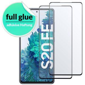 Samsung Galaxy S20 FE panzerglas Full Glue